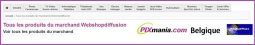 Les articles son les mêmes que le sites Pxmania France