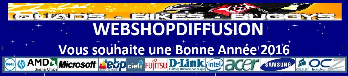 site de e-commerce webshopdiffusion.com Cliquez sur la Bannière ICI.